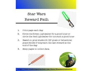 Star Wars Reward Path and Tracker