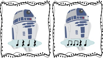 """Rhythm Races-Inspired by """"Star Wars"""" (Eighth Notes/Rest)"""