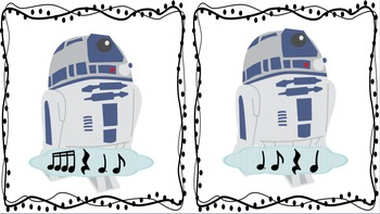 """Rhythm Races-Inspired by """"Star Wars"""" (dotted quarter eighth)"""