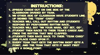 """Rhythm Races-Inspired by """"Star Wars""""(half note/ ta-ah)"""
