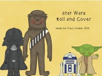 Star Wars Roll and Cover ~ bundle