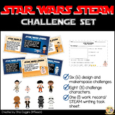 Star Wars STEAM / STEM Challenge Task Cards w/ Writing Tas