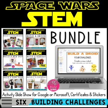 STEM Challenge BUNDLE - May the 4th Be With You - Star Wars inspired