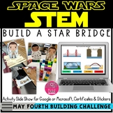 May the 4th Be With You STEM Freebie - Star Bridge
