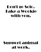 Star Wars: Service/Support Animal Poster