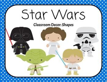 Star Wars Shape Posters