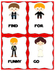 Star Wars Sight Word Cards