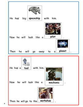 Star Wars- Sight Word Sentences