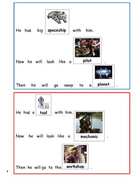 Star Wars- Sight Word Sentences