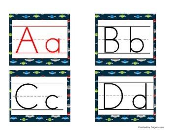 Star Wars Small Alphabet