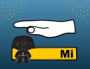 Star Wars Solfege Hand Sign Posters