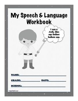 Star Wars Speech Workbook Covers {FREE}