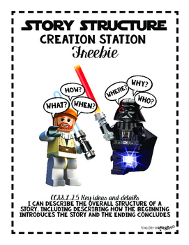 2nd Grade Star Wars Story Structure FREEBIE