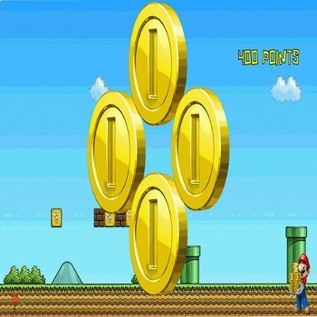 Star Wars & Super Mario PowerPoint Game Bundle - 2 Customizable Games