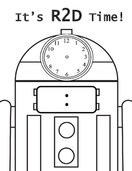 Star Wars Telling Time - Hour & Half Hour