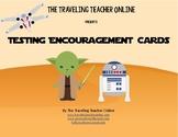 Star Wars©  Testing Encouragement Cards