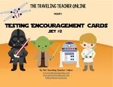 Star Wars©  Testing Encouragement Cards, Set #2