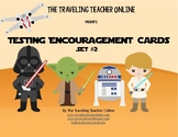 Star Wars©  Testing Encouragement Cards, Set #2