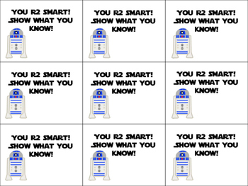 Star Wars Testing Motivational Quotes