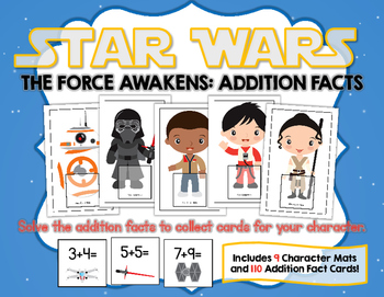 Star Wars The Force Awakens:  Addition Facts