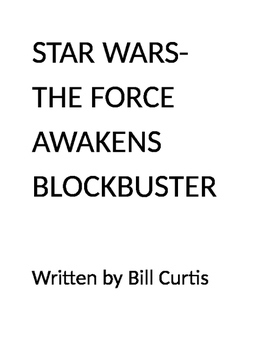 Star Wars-The Force Awakens Blockbuster