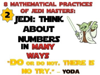 Star Wars Theme 8 Mathematical Practices Mini Posters Common Core CCS
