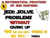 Star Wars Theme 8 Mathematical Practices Mini Posters Comm