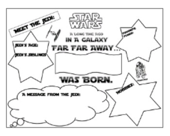 Star Wars Theme Bundle 13 Different Products ELA Math Poster Bookmarks I Can