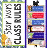 Star Wars Decor Classroom Rules - EDITABLE