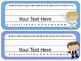 Star Wars Theme Desk Tags and Name Plates {EDITABLE}