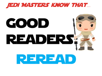 Star Wars Theme Traits of a Good Reader Mini Posters