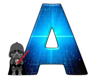 Star Wars Themed Alphabet and Numbers