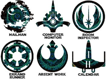 Star Wars Themed Classroom Jobs