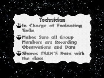 Star Wars Themed Cooperative Group Roles