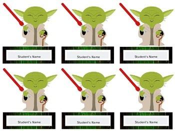 Star Wars Themed Good Grades Bulletin Board