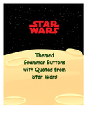 Star Wars Themed Grammar Buttons