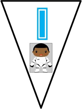Star Wars Themed Growth Mindset flags for bulletin Board AVID Pennant