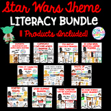 Star Wars Inspired Theme Literacy Bundle **11 Products Included**