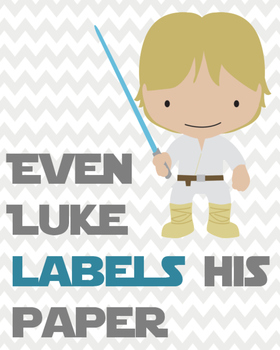 Star Wars Themed Management Posters