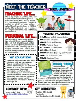 Star wars themed meet the teacher letter by teaching with pink tpt for Meet the teacher newsletter