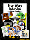 10 more and 10 Less, Place Value , # recognition Star Wars Mystery Pictures