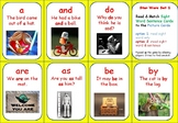 Star Wars Themed SIGHT WORD (& sentence) MATCHING GAME! Level 1 TRICK WORDS