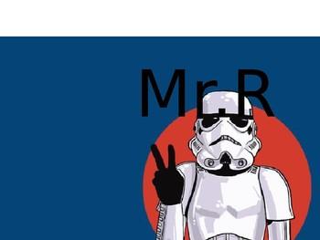 Star Wars Themed Teacher Sign