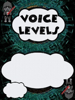 Star Wars Themed Voice Level Posters