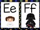 Star Wars Themed Word Wall Letters (Black Polka Dot)