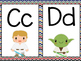 Star Wars Themed Word Wall Letters (Chevron)
