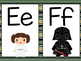 Star Wars Themed Word Wall Letters (Green Striped)