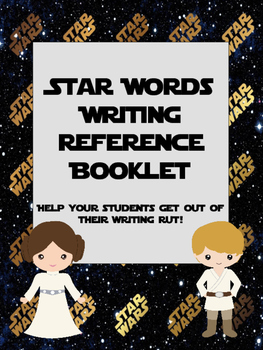 Star Wars Themed Writing Reference