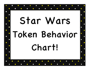 Star Wars Token Behavior Chart!
