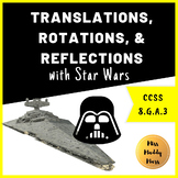 Star Wars Translations, Rotations, and Reflections Activity